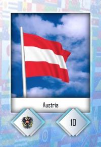 Austria. Cromo 10