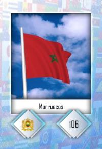 Morruecos. Cromo 106
