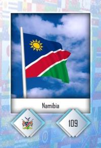 Namibia. Cromo 109