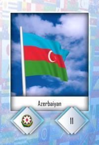 Cromo 11. Azerbaiyan