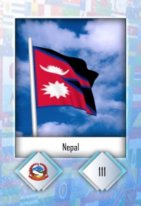 Cromo 111. Nepal