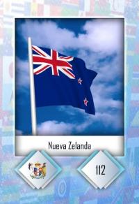 Nueva Zelanda. Cromo 112