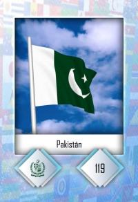 Cromo 119. Pakistán