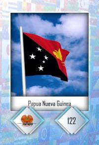Cromo 122. Papua Nueva Guinea