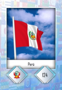 Cromo 124. Perú