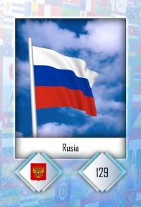 Cromo 129. Rusia