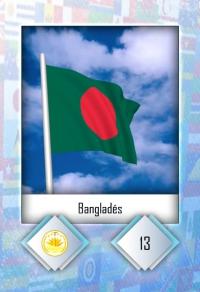 Cromo 13. Bangladés