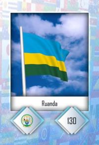 Cromo 130. Ruanda