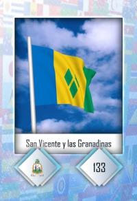 San Vicente y las Granadinas. Cromo 133