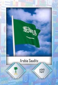 Arabia Saudita. Cromo 137