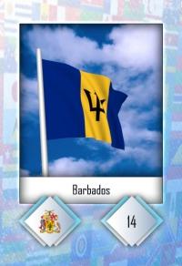 Cromo 14. Barbados