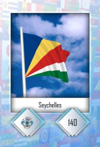 Cromo 140. Seychelles