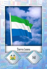 Sierra Leona. Cromo 141