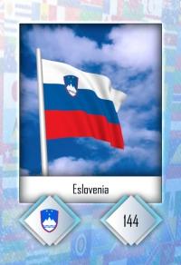 Cromo 144. Eslovenia