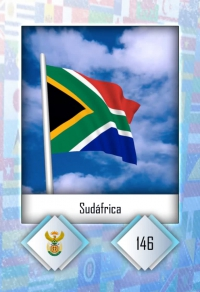 Sudáfrica. Cromo 146
