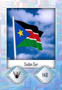 Cromo 148. Sudán