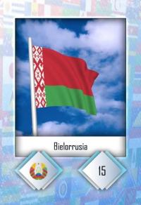 Cromo 15. Bielorrusia