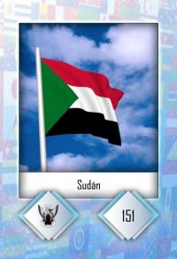 Cromo 151. Sudán