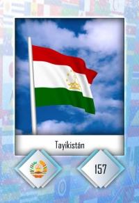 Tayikistán. Cromo 157