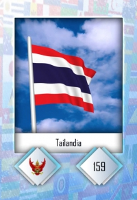 Cromo 159. Tailandia