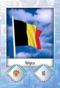 Cromo 16. Bélgica
