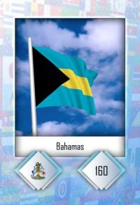 Cromo 160. Bahamas