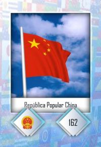 Cromo 162. República Popular China