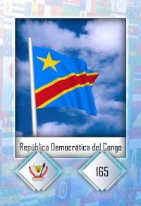 República del Congo. Cromo 165