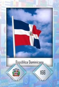 Cromo 166. República Dominicana