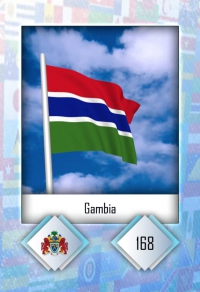 Gambia. Cromo 168