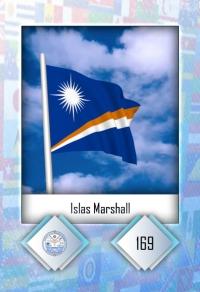 Cromo 169. Islas Marshall