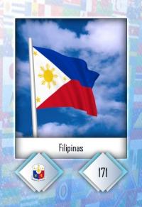 Cromo 171. Filipinas