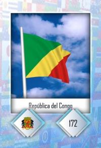 Cromo 172. República del Congo
