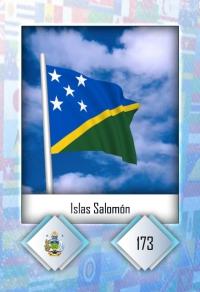 Islas Salomón. Cromo 173
