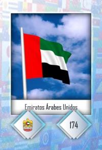 Cromo 174. Emiratos Árabes Unidos