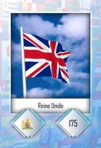 Reino Unido. Cromo 175