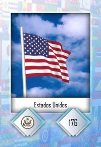 Estados Unidos. Cromo 176