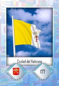 Cromo 177. Ciudad del Vaticano