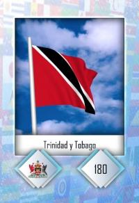 Trinidad y Tobago. Cromo 180