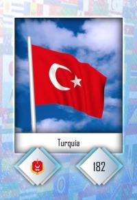 Turquía. Cromo 182
