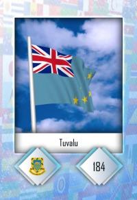 Tuvalu. Cromo 184