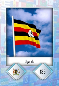 Uganda. Cromo 185