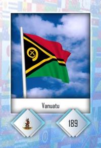 Vanuatu. Cromo 189
