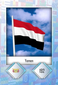Yemen. Cromo 192