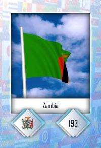 Zambia. Cromo 193