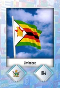 Zimbabue. Cromo 194