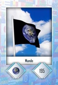 Mundo. Cromo 195