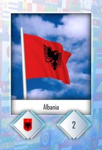 Cromo 2. Albania