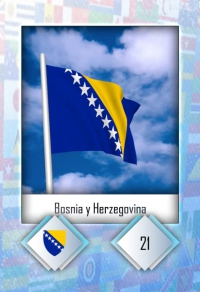 Cromo 21. Bosnia y Herzegovina
