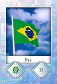 Cromo 23. Brasil